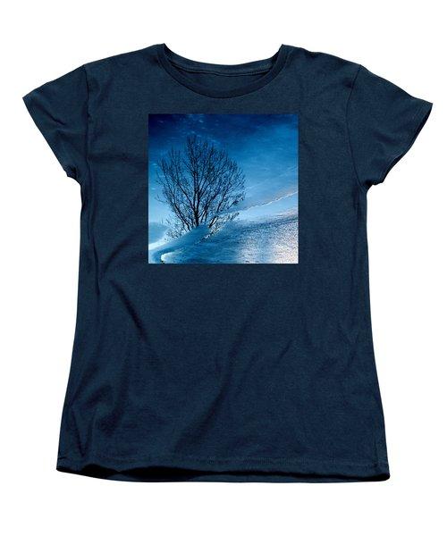 Winter Reflections Women's T-Shirt (Standard Cut) by Don Spenner