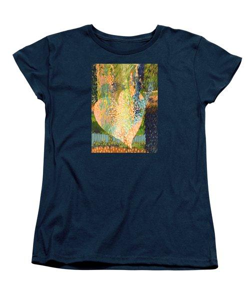 Winter To Spring Women's T-Shirt (Standard Cut) by Lynda Hoffman-Snodgrass