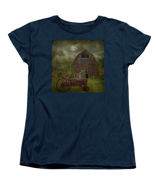 Wisconsin Barn 3 Women's T-Shirt (Standard Cut) by Jeff Burgess