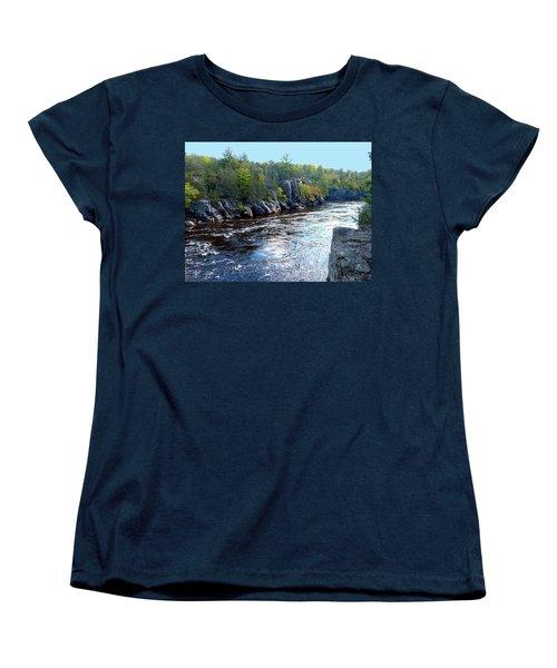 Wisconsin Shores 1 Women's T-Shirt (Standard Cut) by Will Borden