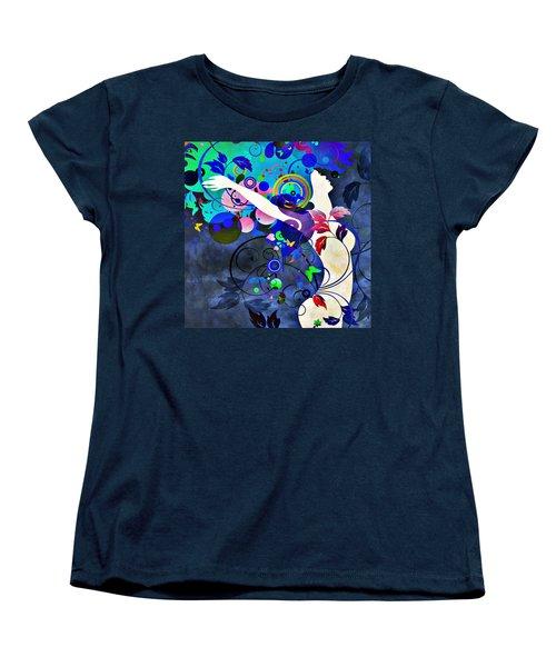 Wondrous Night Women's T-Shirt (Standard Cut) by Angelina Vick