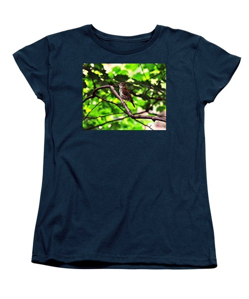 Wood Thrush Singing Women's T-Shirt (Standard Cut)