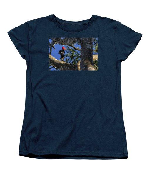 Woody Woodpecker Women's T-Shirt (Standard Cut) by David Gleeson