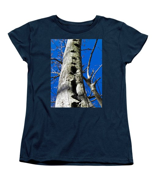 Women's T-Shirt (Standard Cut) featuring the photograph Woody's Paradise by Nick Kirby