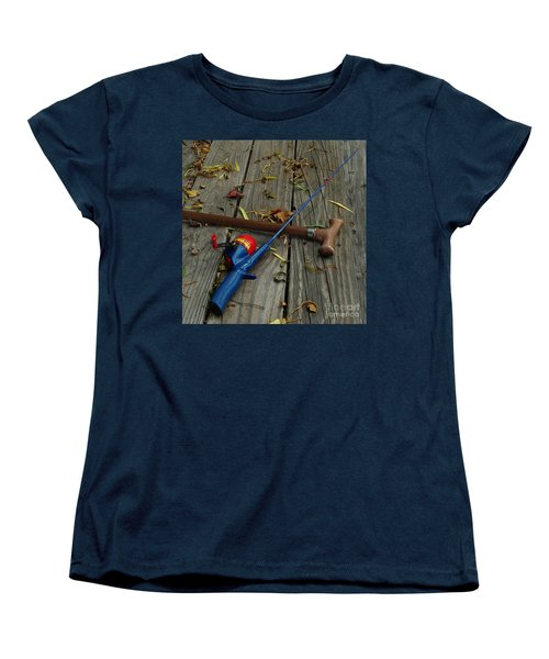 Women's T-Shirt (Standard Cut) featuring the photograph Wrapped In Time by Peter Piatt