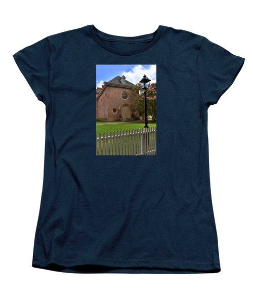Wren Chapel At William And Mary Women's T-Shirt (Standard Cut) by Jerry Gammon