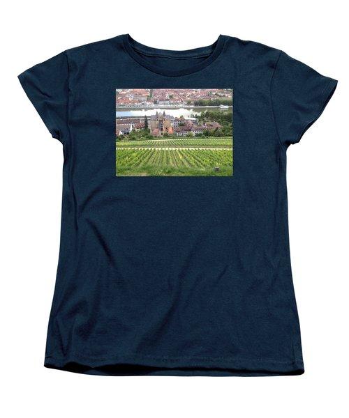 Wurzburg Women's T-Shirt (Standard Cut) by Pema Hou