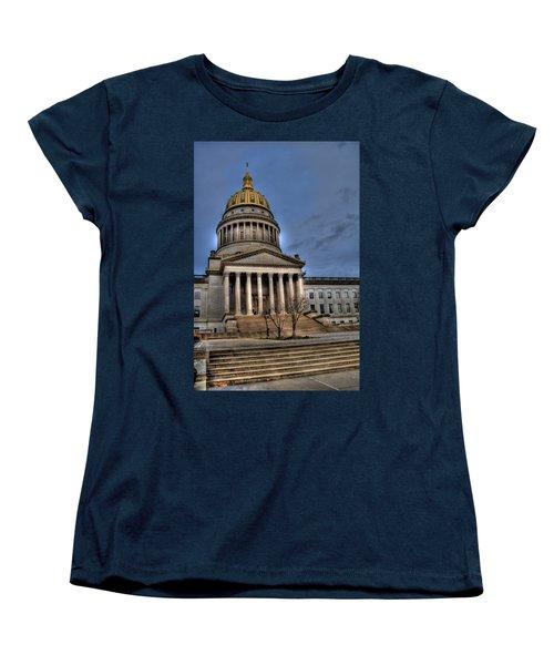 Wv Capital Building 2 Women's T-Shirt (Standard Cut) by Jonny D