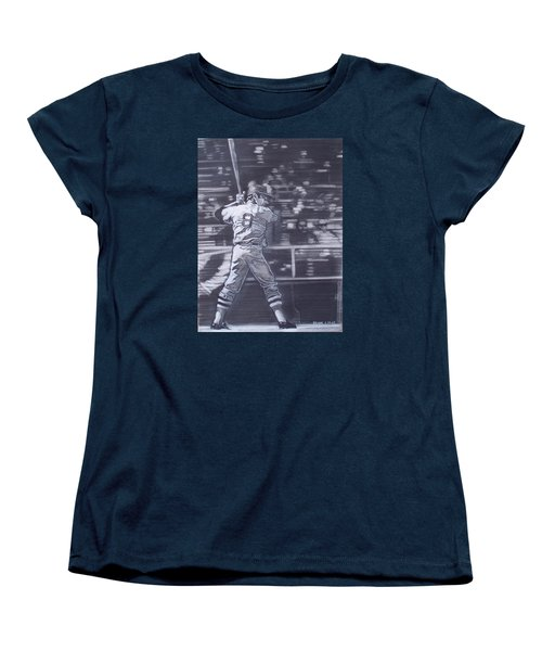 Yaz - Carl Yastrzemski Women's T-Shirt (Standard Cut) by Sean Connolly