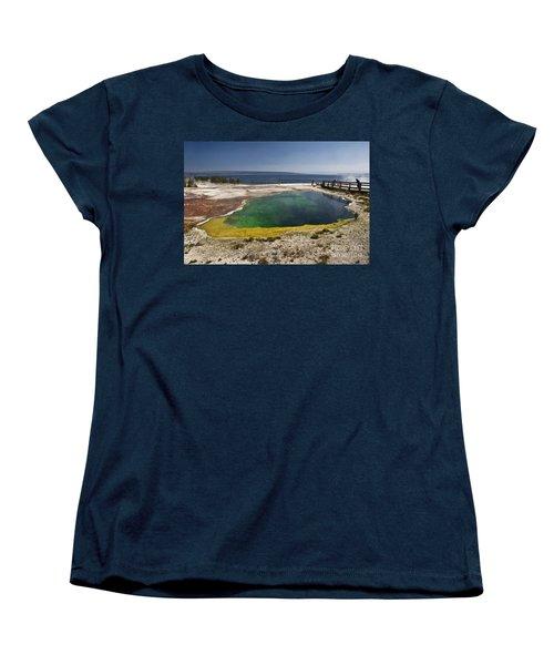 Yellowstone Lake Women's T-Shirt (Standard Fit)
