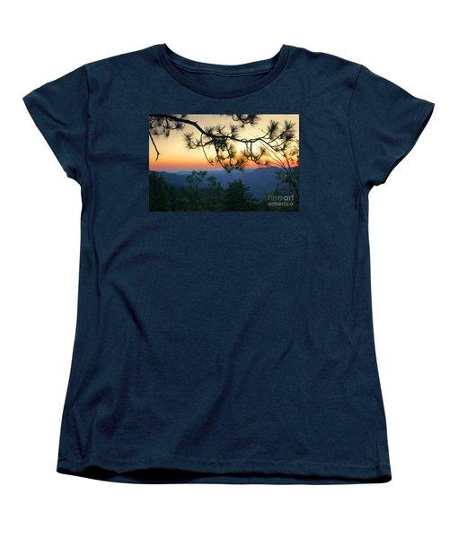 Yosemite Dusk Women's T-Shirt (Standard Cut) by Ellen Cotton