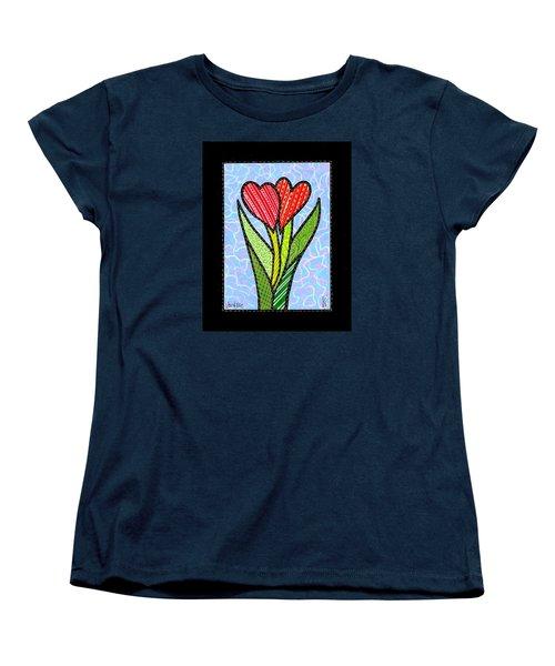 You And Me Women's T-Shirt (Standard Cut) by Jim Harris