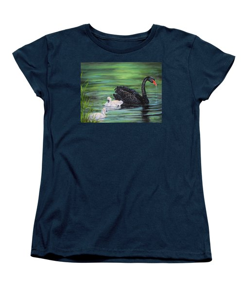 You Comin'--black Swan Women's T-Shirt (Standard Cut)