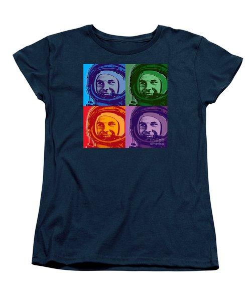 Yuri Gagarin  Women's T-Shirt (Standard Cut) by Jean luc Comperat