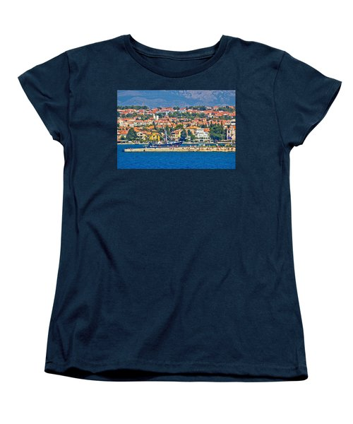 Zadar Waterfront Sea Organs View Women's T-Shirt (Standard Cut) by Brch Photography