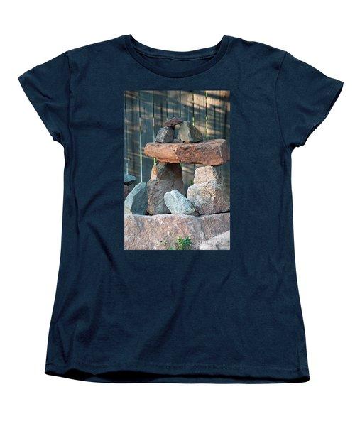 Women's T-Shirt (Standard Cut) featuring the photograph Zen Do by Minnie Lippiatt