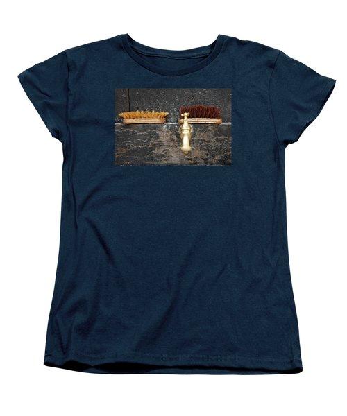 Women's T-Shirt (Standard Cut) featuring the photograph Zuiderzee Brushes by KG Thienemann
