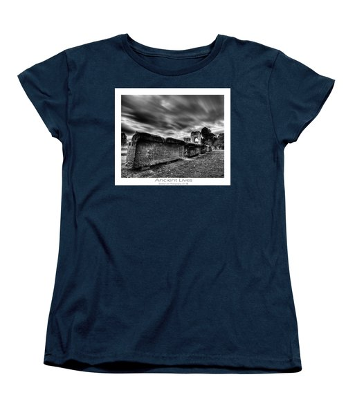 Women's T-Shirt (Standard Cut) featuring the photograph  Ancient Lives by Beverly Cash