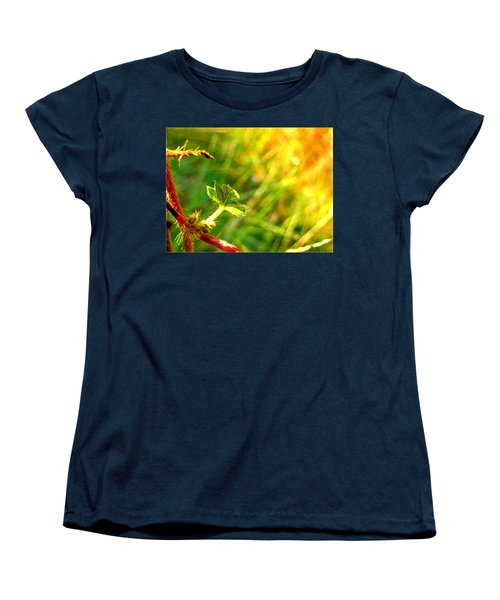 Women's T-Shirt (Standard Cut) featuring the photograph A New Morning by Debbie Portwood