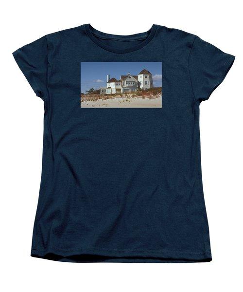 Beach House Women's T-Shirt (Standard Cut) by Mark Greenberg