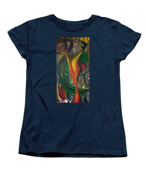 Butterfly Caught Women's T-Shirt (Standard Cut) by Sheridan Furrer