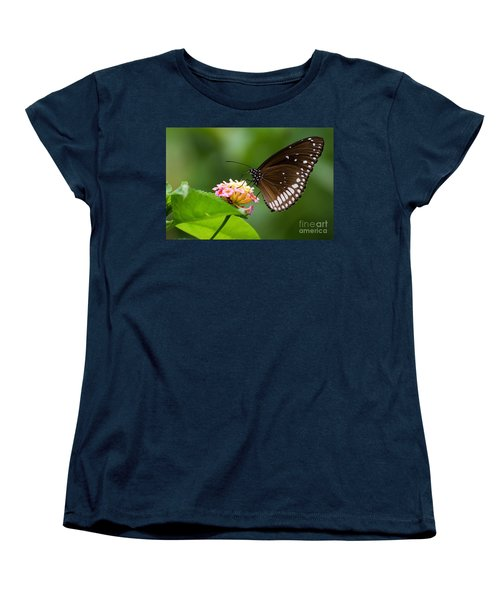 Butterfly Women's T-Shirt (Standard Cut) by Fotosas Photography