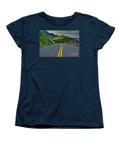 Cabot Trail Women's T-Shirt (Standard Cut) by Joe  Ng