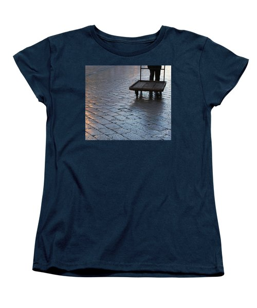 Women's T-Shirt (Standard Cut) featuring the photograph Colors Of Light by Andy Prendy