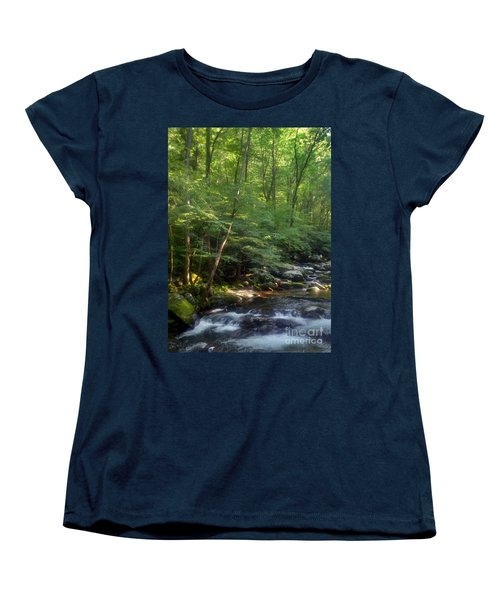 Women's T-Shirt (Standard Cut) featuring the photograph Great Smoky Mountains by Janice Spivey