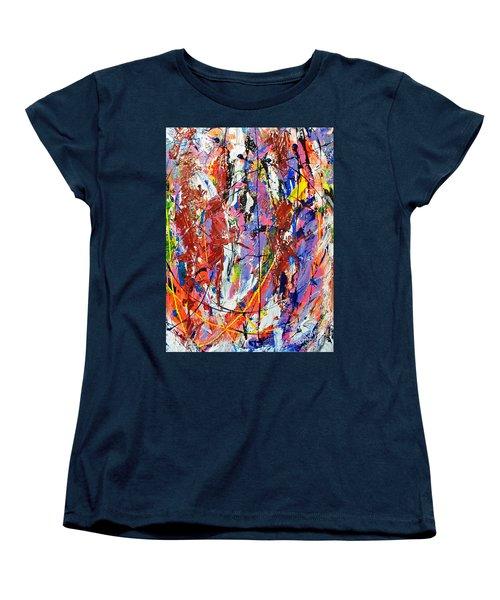 Jazz Women's T-Shirt (Standard Cut) by Elf Evans