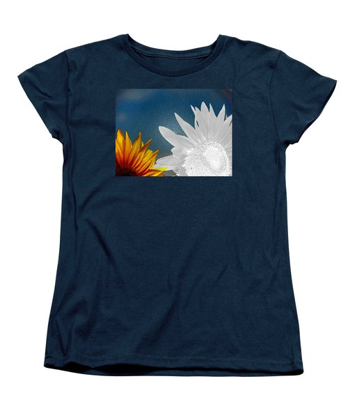 Now And Then  Women's T-Shirt (Standard Cut) by Lenore Senior