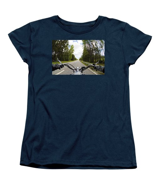 On The Road Women's T-Shirt (Standard Cut) by Micah May