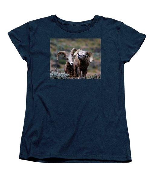 Smile Women's T-Shirt (Standard Cut) by Steve McKinzie
