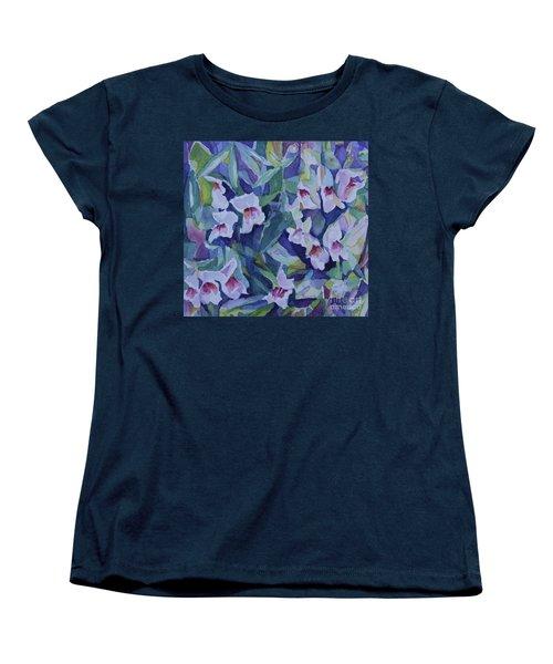 Snap Dragons Women's T-Shirt (Standard Cut) by Jan Bennicoff