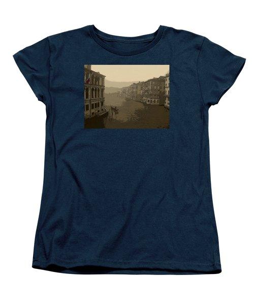 Women's T-Shirt (Standard Cut) featuring the photograph Venice by David Gleeson