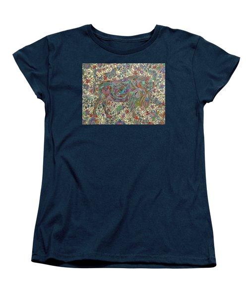 Where The Butterflies Roam  Women's T-Shirt (Standard Cut) by Erika Pochybova