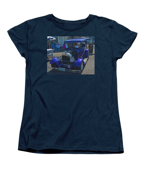 Women's T-Shirt (Standard Cut) featuring the photograph 1929 Ford Model A by Tikvah's Hope