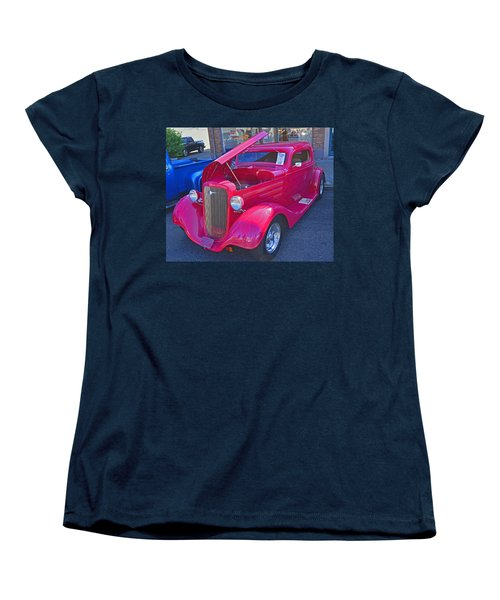 Women's T-Shirt (Standard Cut) featuring the photograph 1934 Chevy Coupe by Tikvah's Hope
