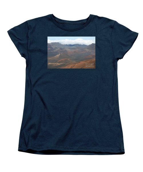 Haleakala Volcano Maui Hawaii Women's T-Shirt (Standard Cut) by Sharon Mau