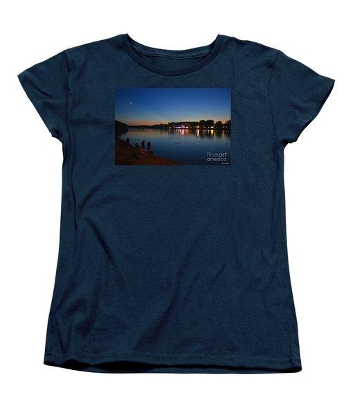 Riverview Women's T-Shirt (Standard Cut) by Sue Stefanowicz