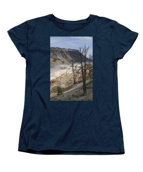 Yellowstone Nat'l Park Women's T-Shirt (Standard Cut) by Henri Irizarri