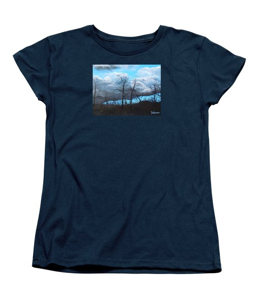 A Cloudy Day Women's T-Shirt (Standard Cut) by Dan Whittemore
