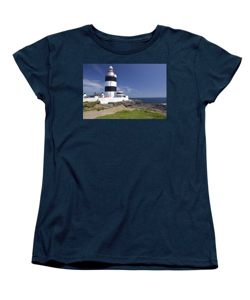 A Day At The Hook  Women's T-Shirt (Standard Cut) by Martina Fagan
