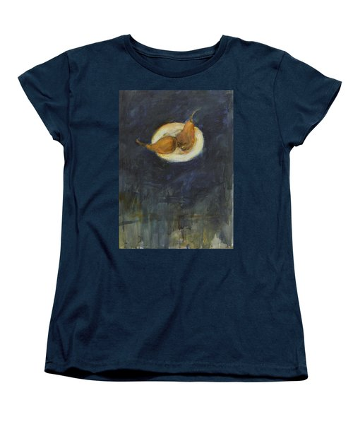 Women's T-Shirt (Standard Cut) featuring the painting A Pair by Kathleen Grace