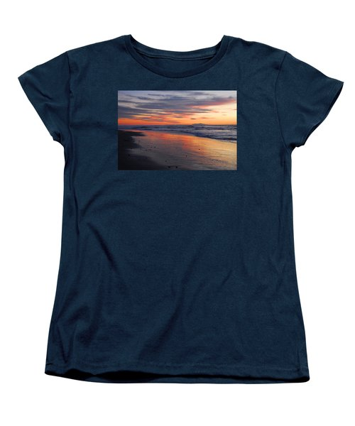 Women's T-Shirt (Standard Cut) featuring the photograph A Passion For Purple by Lynn Bauer