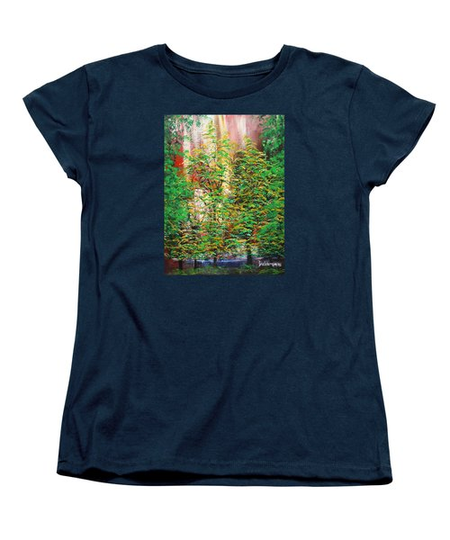 A Peaceful Place Women's T-Shirt (Standard Cut) by Dan Whittemore