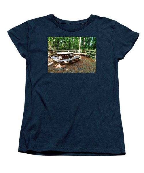 Women's T-Shirt (Standard Cut) featuring the photograph A Place For Gathering by Ester  Rogers
