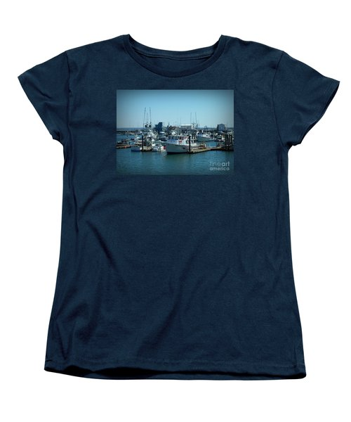 A Sunny Nautical Day Women's T-Shirt (Standard Cut) by Chalet Roome-Rigdon