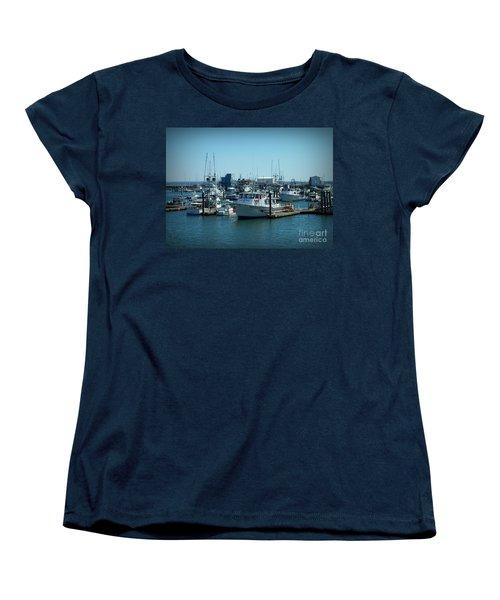 A Sunny Nautical Day Women's T-Shirt (Standard Cut)
