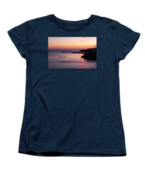 Women's T-Shirt (Standard Cut) featuring the photograph Albuferian Sunset by Lynn Bolt